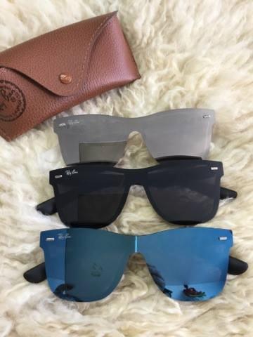 87b15fdcb6f30 Óculos De Sol Espelhado Masculino E Feminino Uv400 Unissex - R  40 ...