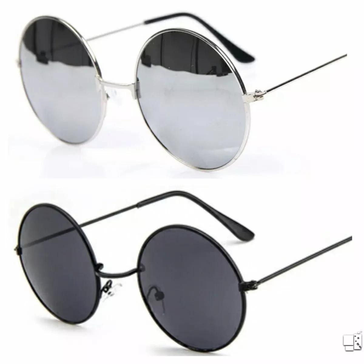 óculos de sol espelhado masculino feminino redondo lindo. Carregando zoom. c458948966