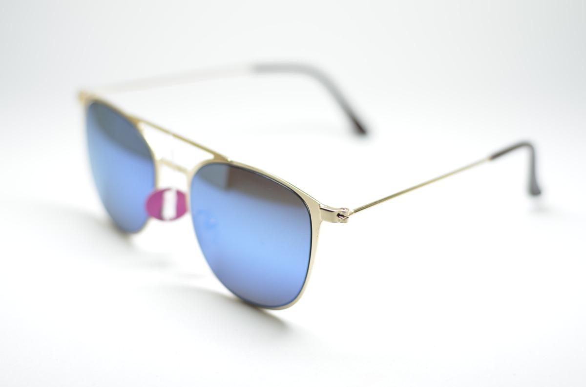 e5ea072d9 óculos de sol espelhado pequeno dourado com proteção uv400. Carregando zoom.