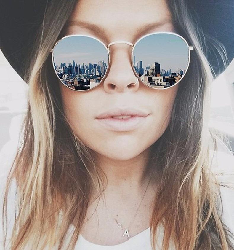 óculos de sol espelhado várias cores feminino masculino. Carregando zoom. 82c4cf8d30