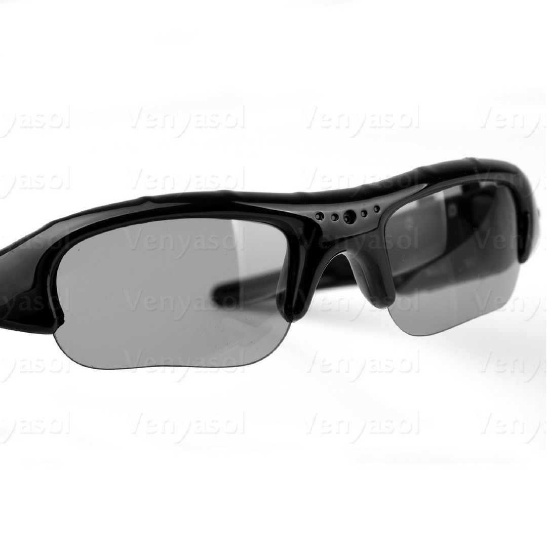 a5a21b21b7f17 óculos de sol espião camera espiã hd 720p filma discreto. Carregando zoom.