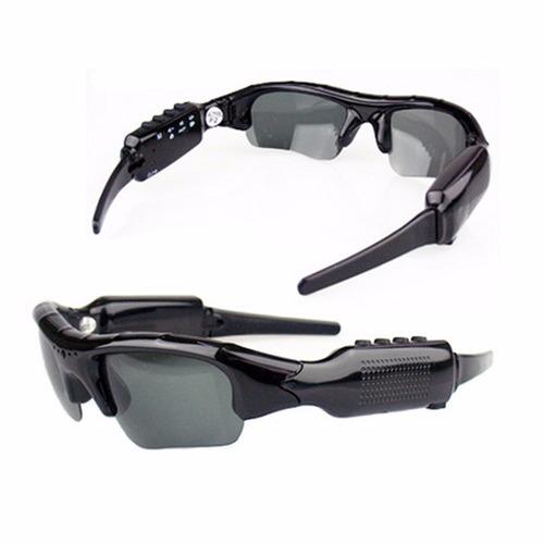 39c2113a515f7 Óculos De Sol Espião Câmera Filmadora Espiã Resolução Hd - R  120