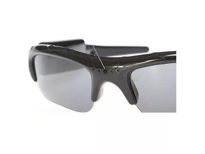 Óculos De Sol Espião Com Camera Espiã Modelo Esporte Novo - R  119 ... 174560c37d