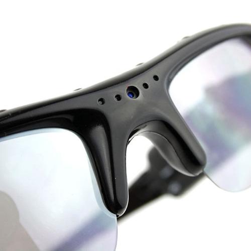 Óculos De Sol Espião Com Mini Câmera Filmadora Escondida - 1 - R ... 3ec431c5ef