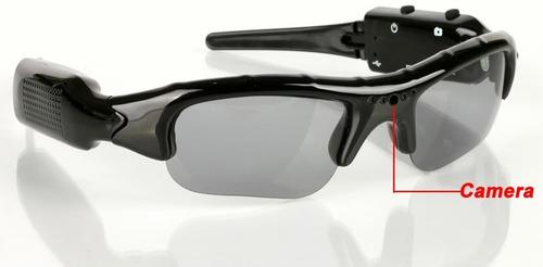 óculos de sol espião filmadora