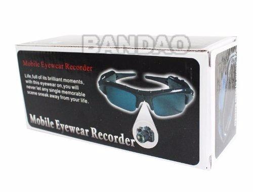 oculos de sol espião mobile eyewear recorder filmagem/foto