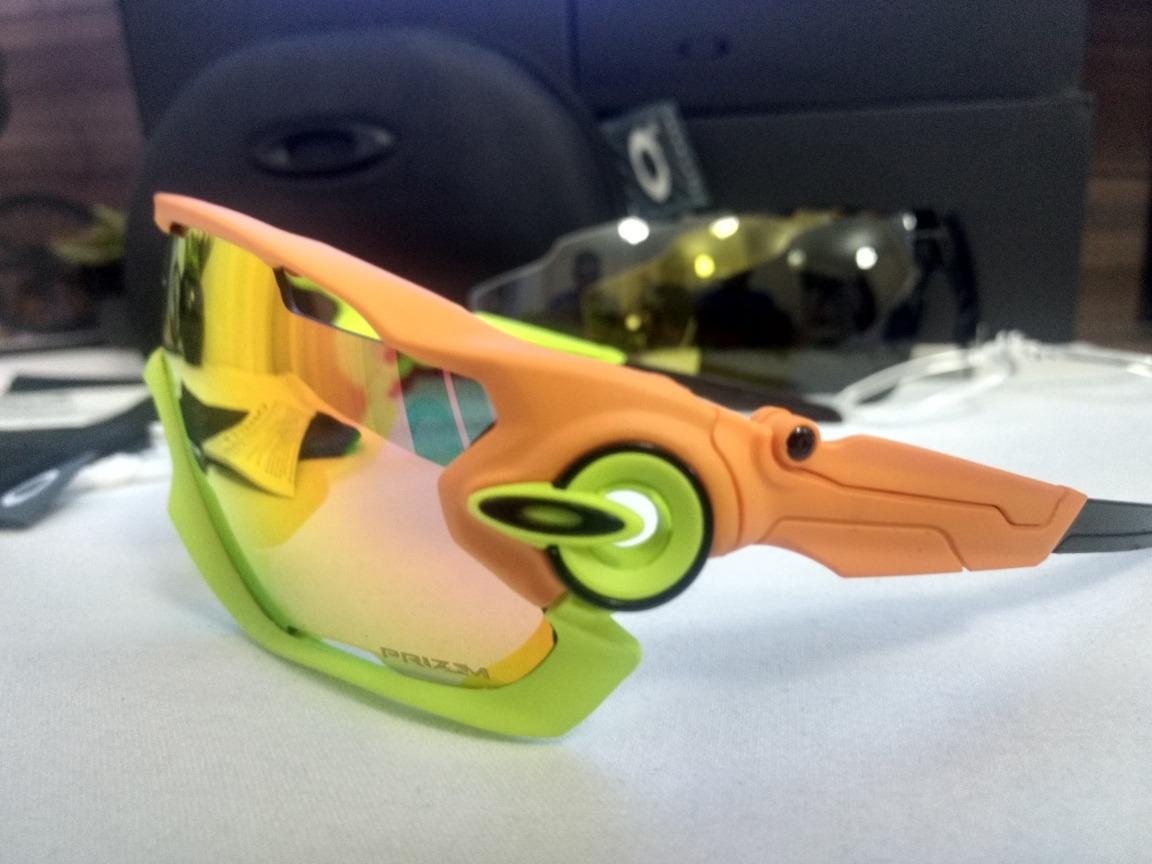 b64c13dec2 óculos de sol esportivo bike corrida oakley jawbreaker. Carregando zoom.
