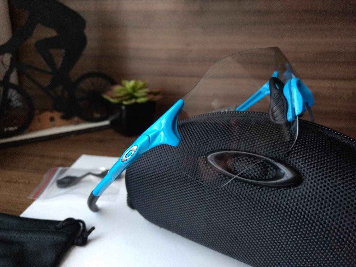 9974994856f84 Óculos De Sol Esportivo Ciclismo Oakley Ev Zero - R  189,00 em ...