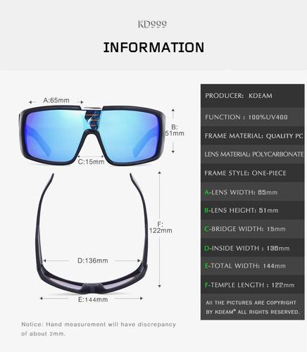f82f1ee94 Óculos De Sol Esportivo Dragon Orbit Snow Tam Gg - R$ 60,00 em ...