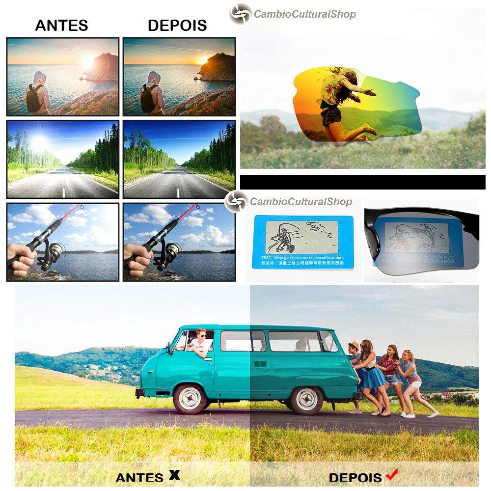 c3ba3f9ca41c7 óculos de sol esportivo lente polarizada fotocromática uv400. Carregando  zoom.