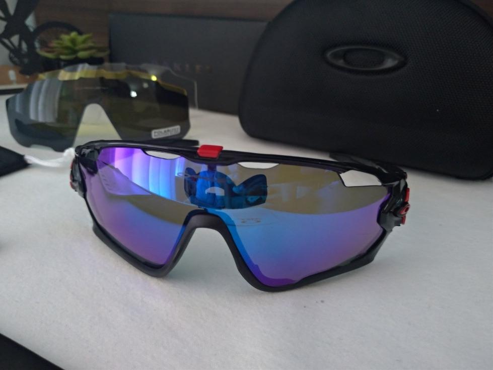 ff09230948af9 Óculos De Sol Esportivo Oakley Jawbreaker