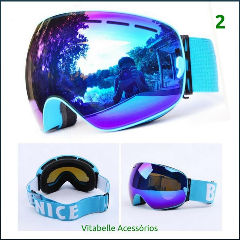 a1b0527967d26 oculos de sol esqui neve snowboard jet ski escalar uv400. Carregando zoom.
