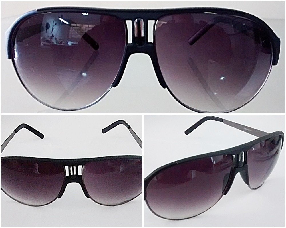 Oculos de sol estilo aviador mascara case e porta oculos for Porta oculos