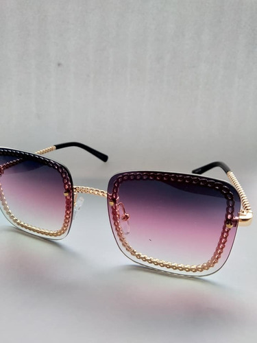 óculos de sol estilo blogueira proteção uv400 + case flanela