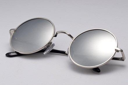 Óculos De Sol Estilo John Lennon Prata Espelhado Prata - R  29,90 em ... 85f427e07d