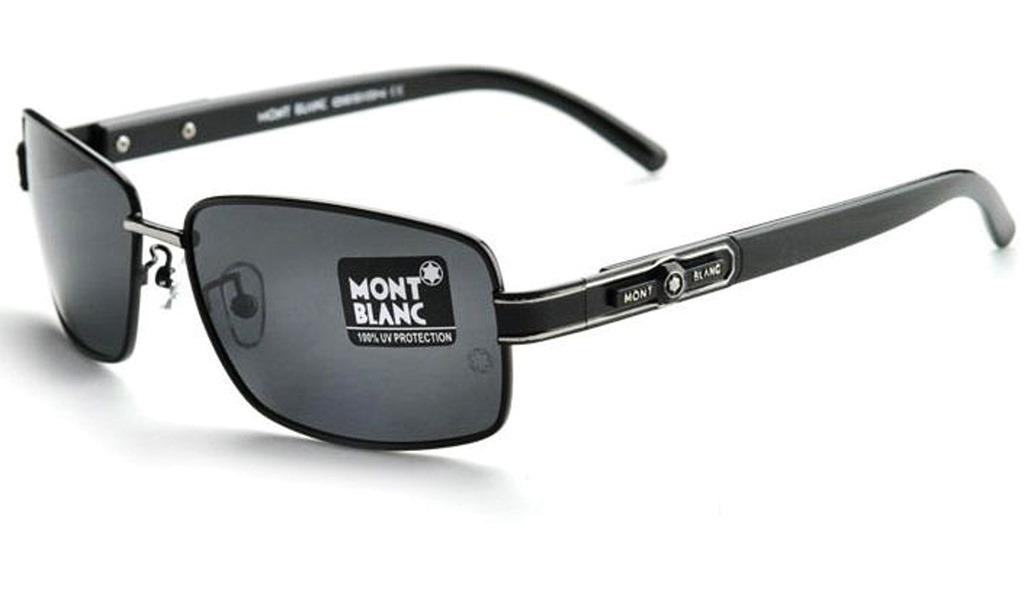 Óculos De Sol Estilo Policial Mont Blanc Mb372 - R  149,00 em ... 1697abe699