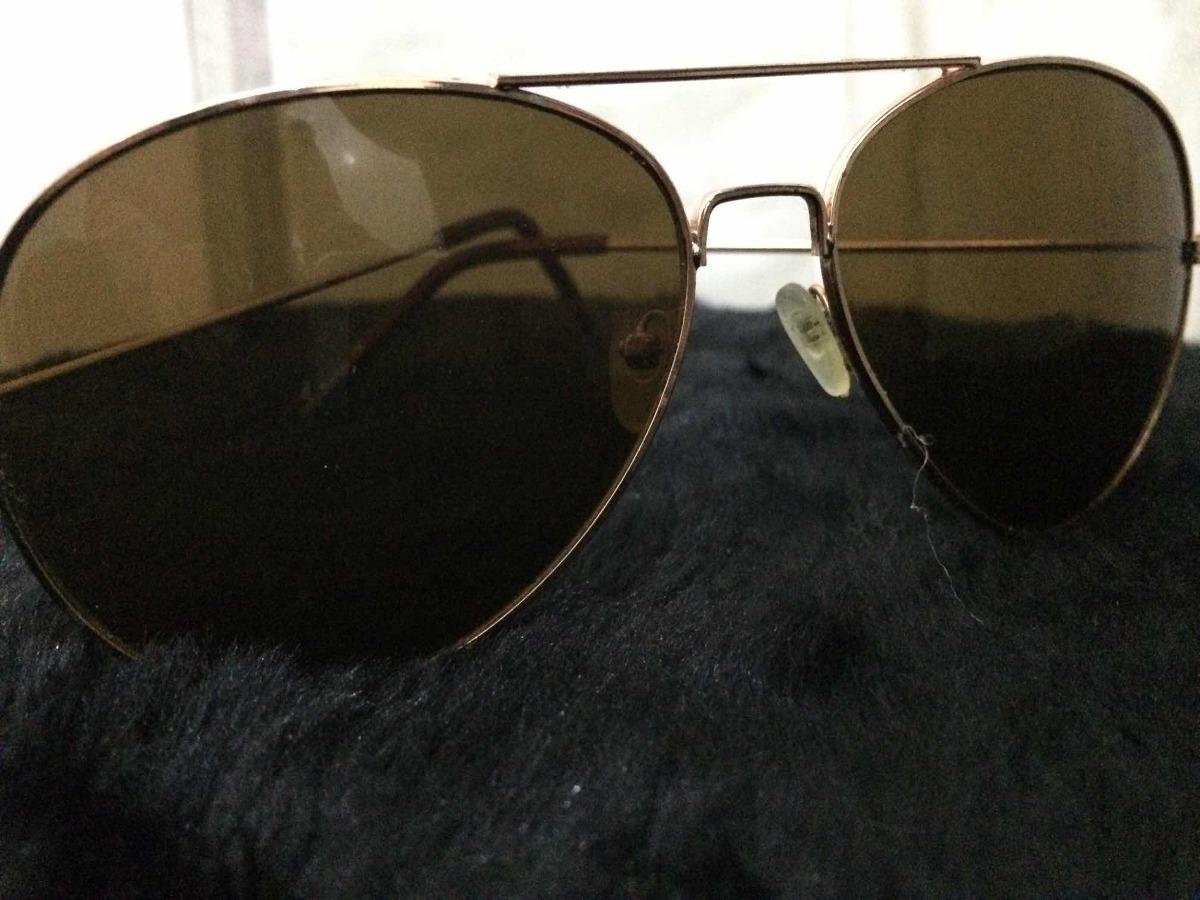 5e129b67ecc61 Óculos De Sol Estilo Rayban Marrom - R  9,90 em Mercado Livre