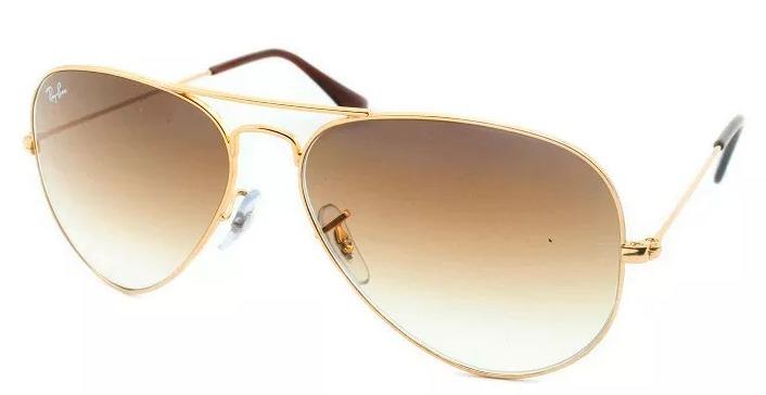 a3e5db3765fae Óculos De Sol Euro Aviador Com Lentes Degradê (original) - R  150,00 ...
