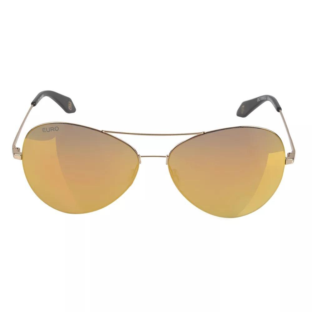 e41b649c38187 óculos de sol euro feminino aviador espelhado oc186eu 4d. Carregando zoom.
