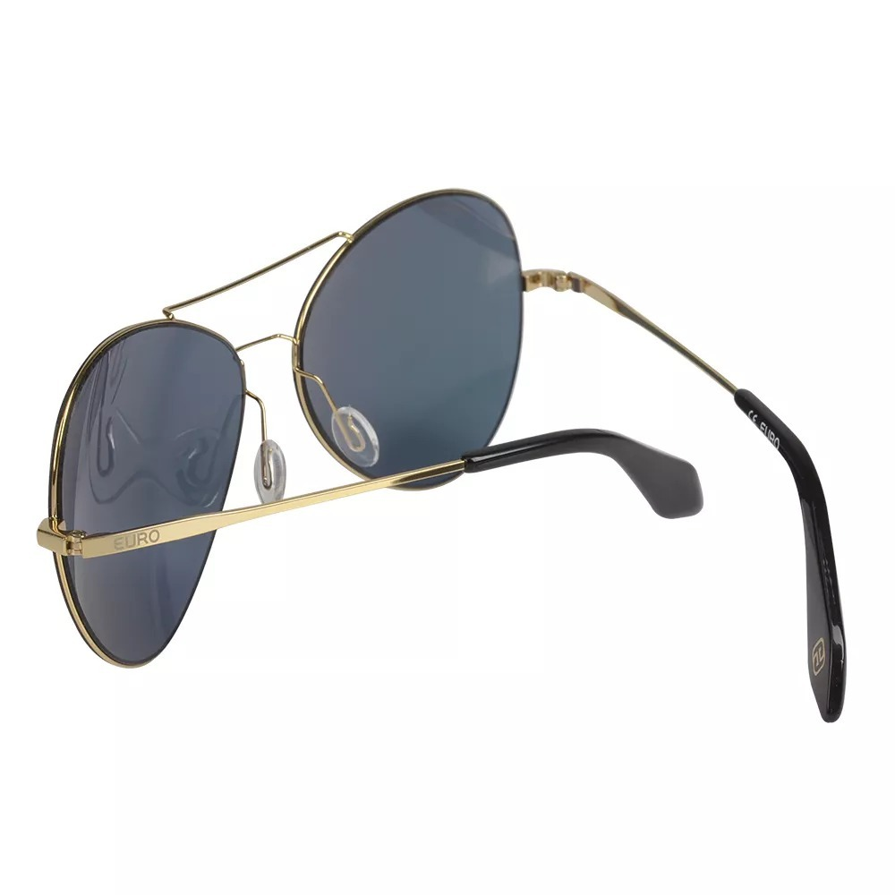 ee7430c7f7e63 óculos de sol euro feminino aviador espelhado oc186eu 4d. Carregando zoom.