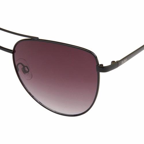 186dc8f77 Óculos De Sol Euro Feminino Oc066eu/3m Preto Original - Loja - R ...