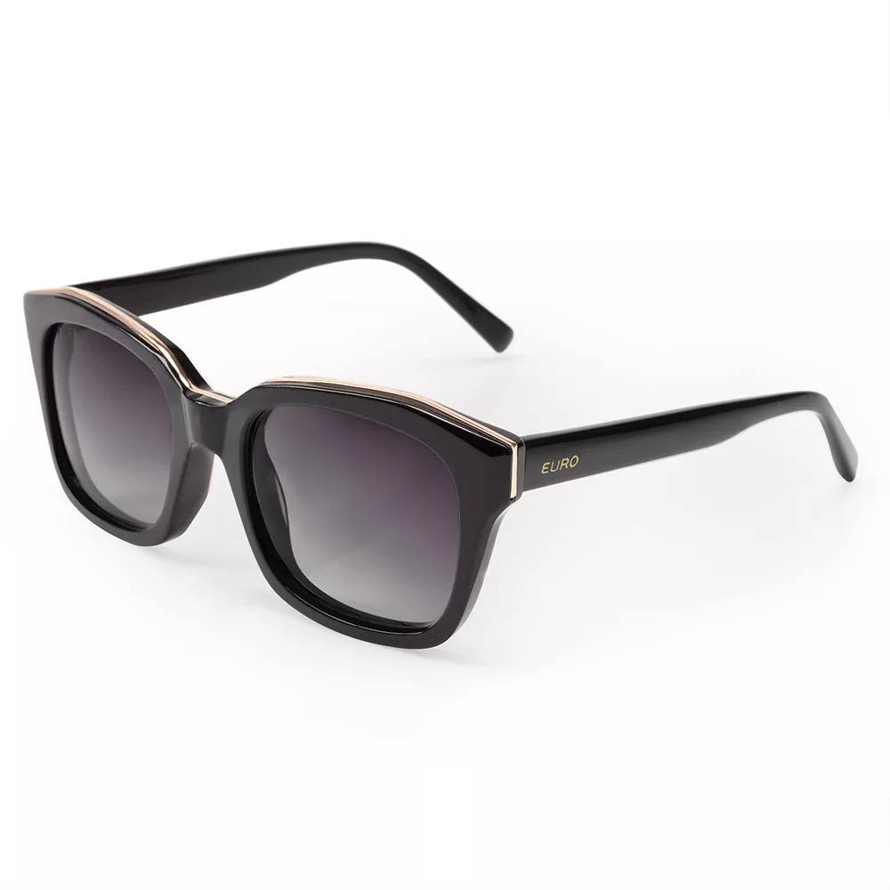 f69ab42da Óculos De Sol Euro Feminino Retangulares Oc187eu/8p - R$ 239,90 em ...