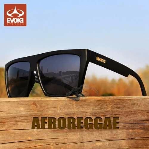 7efc1419b6364 Óculos De Sol Evoke Afroreggae Black Masculino Importado - R  48