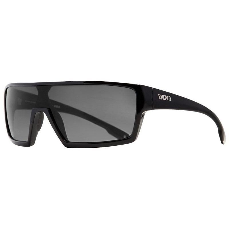 1ee176703 Óculos De Sol Evoke Bionic Beta Black Shine Gray Total - R$ 299,90 ...