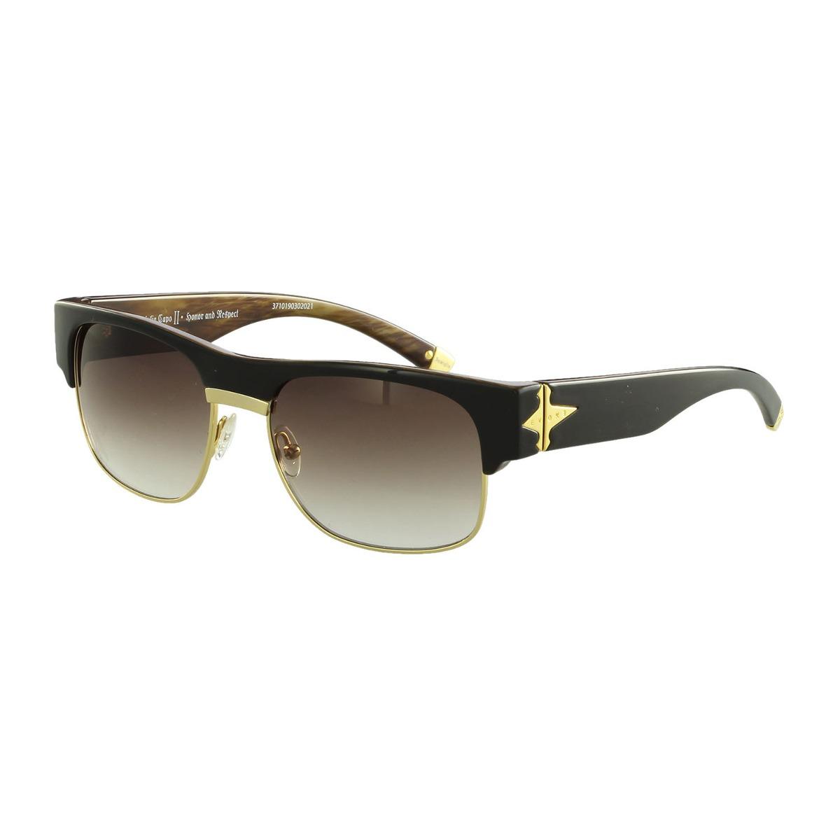 6430688497ee7 Óculos De Sol Evoke Casual Preto Aev1m01690 - R  495,00 em Mercado Livre
