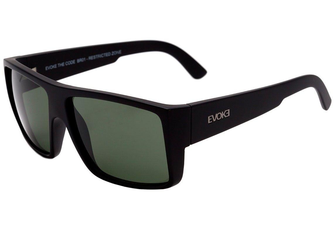 a919bb5e8 Óculos De Sol Evoke - Code - Black Matte/g15 + Brindes!!! - R$ 420 ...