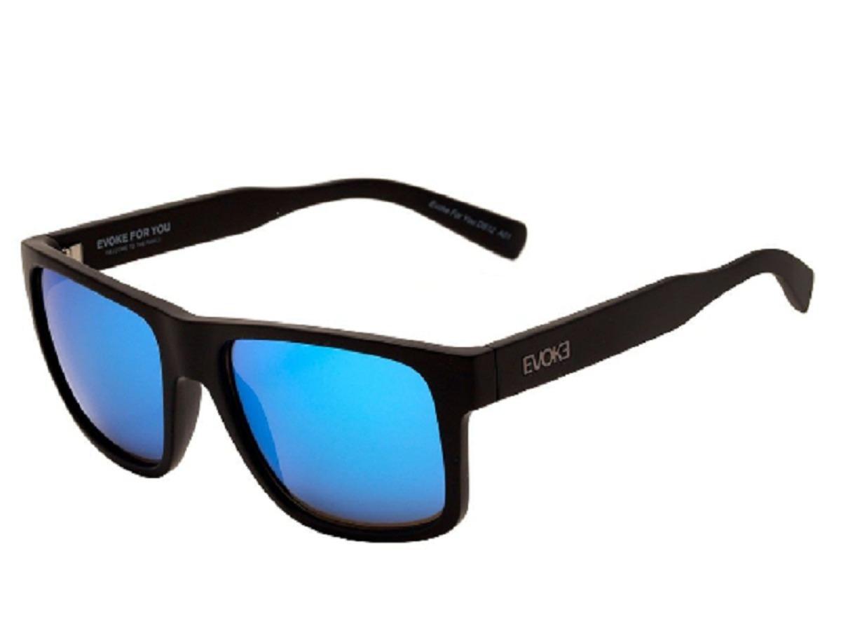 d6b7aafe4 Óculos De Sol Evoke For You Ds12 A01 Azul Espelhado 11 - R$ 320,00 ...