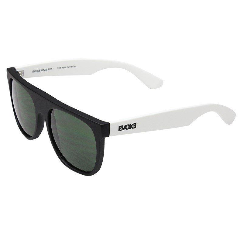 3110ce12123d6 óculos de sol evoke haze a02 black temple white black g15 gr. Carregando  zoom.