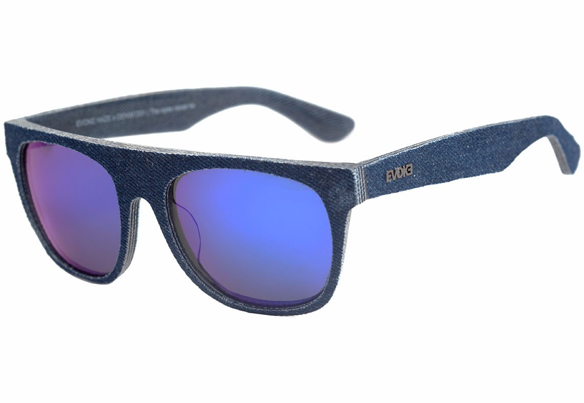 2c9f47c632290 óculos de sol evoke haze x denim d01 azul fosco   azul. Carregando zoom.