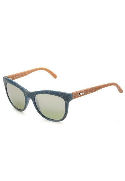 Óculos De Sol Evoke Hybrid Ii B07 Azul bege - R  429,94 em Mercado Livre 59878367bb