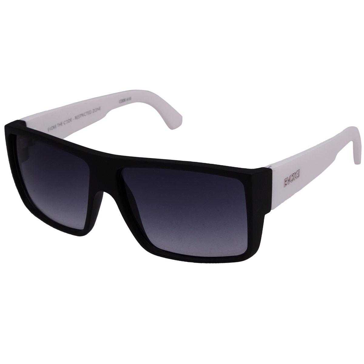 9116d5f2e5d48 óculos de sol evoke the code a10 - black white grey. Carregando zoom.