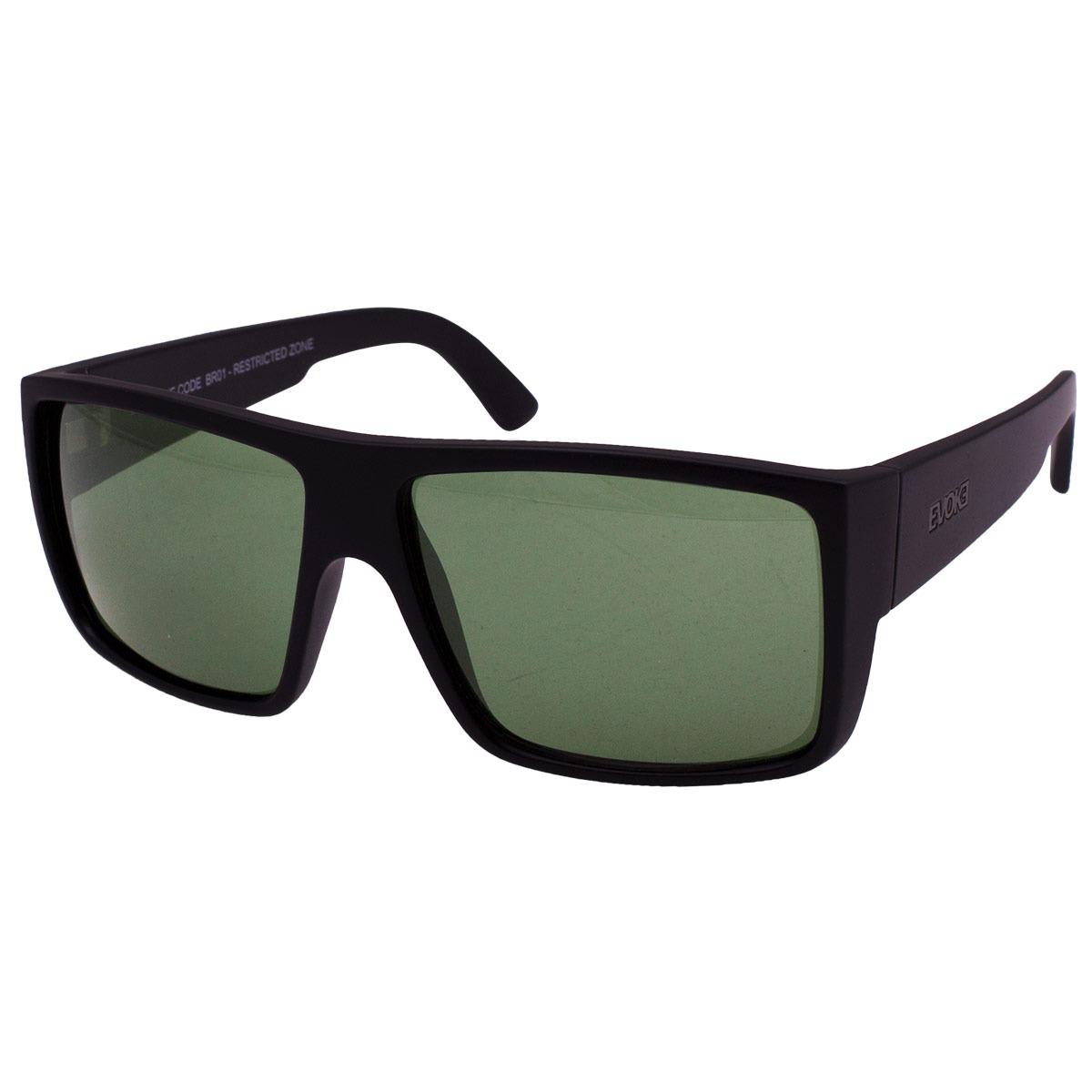 c453abc82966f óculos de sol evoke the code br01 - black silver green. Carregando zoom.
