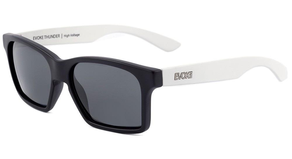 a687069307cc4 oculos de sol evoke thunder ab11 black temple white gray. Carregando zoom.