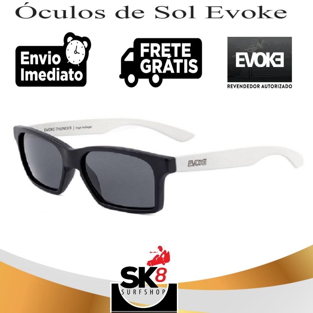 98f2e8a66 óculos de sol evoke thunder black temple white matte gray 9. Carregando  zoom.