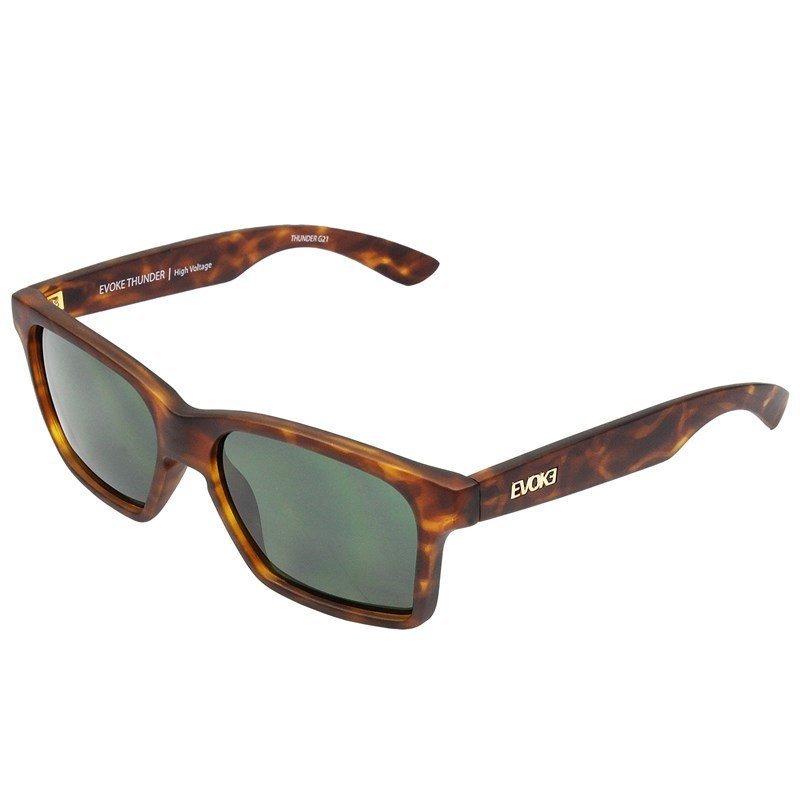842219d7eb8a5 óculos de sol evoke thunder g21 turtle matte gold g15 green. Carregando  zoom.