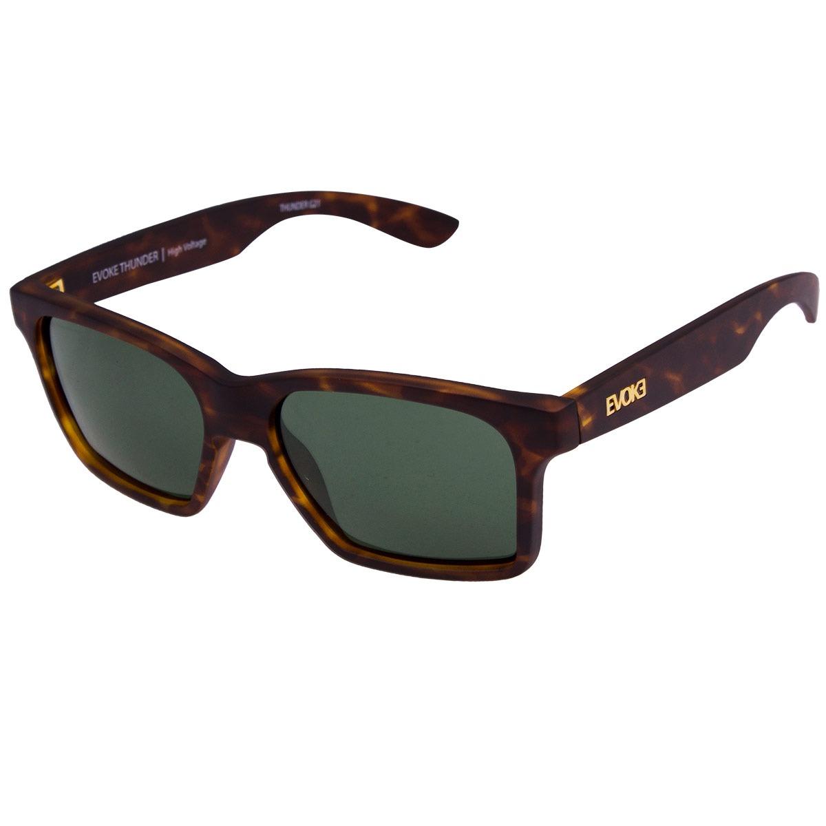 1c92205d8afcc Óculos De Sol Evoke Thunder - Turtle gold green - R  474,00 em ...