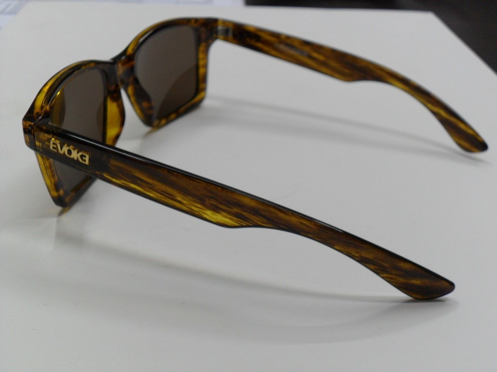 b12f575e654a1 óculos de sol evoke trigger turtle gold brown. Carregando zoom.