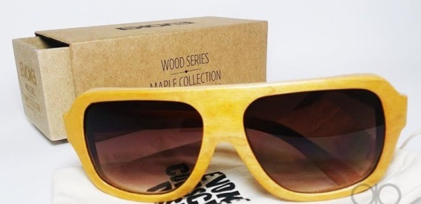 39b6c3b2fe243 Oculos De Sol Evoke Wood Series 01 Madeira Maple Collection - R  298 ...