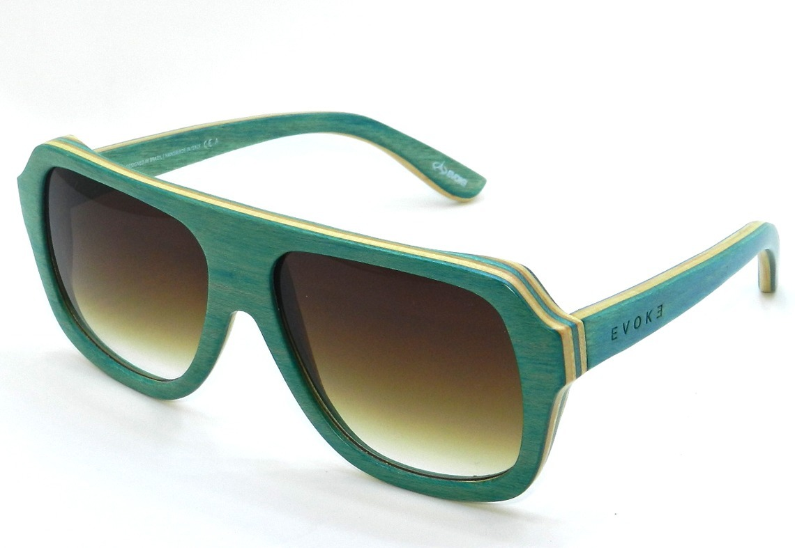 ffb26d16c oculos de sol evoke wood series 01 maple collection green. Carregando zoom.