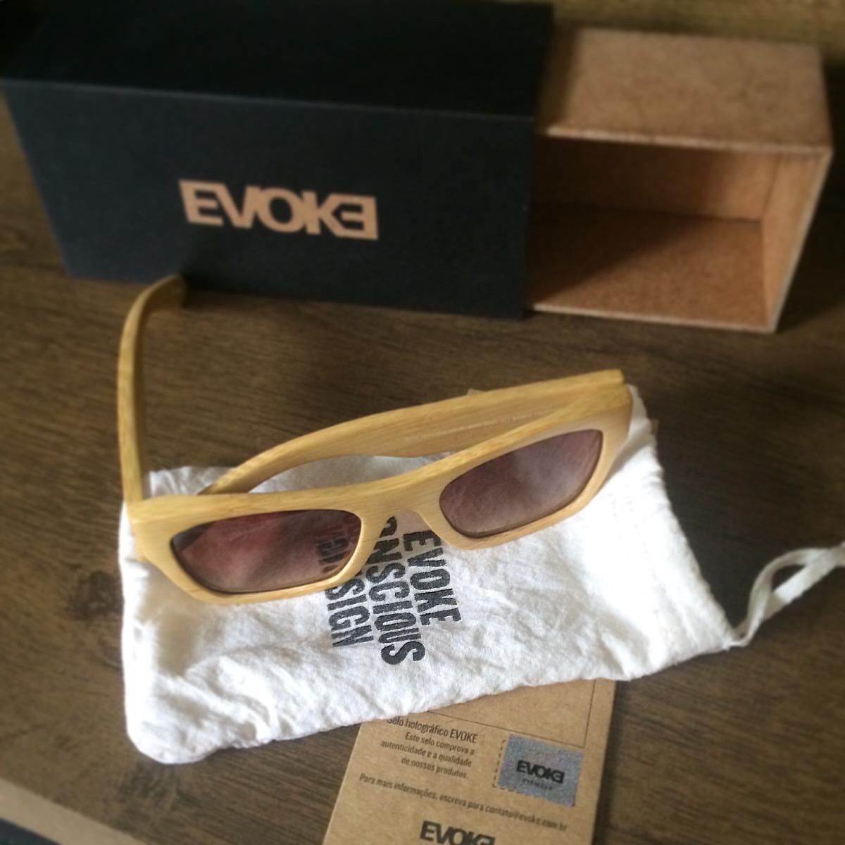 39d25cb5a Oculos De Sol Evoke Wood Series Original Madeira - R$ 238,09 em ...