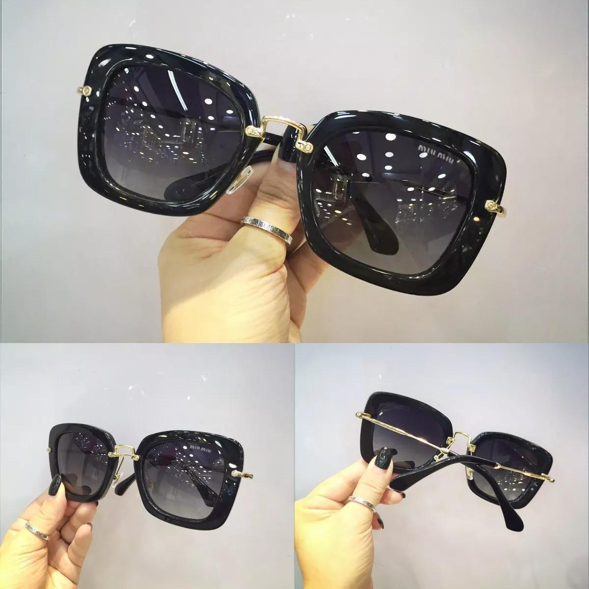 Óculos De Sol Feminino 070 Preto E Tartaruga - R  569,00 em Mercado ... 27ed225d5a