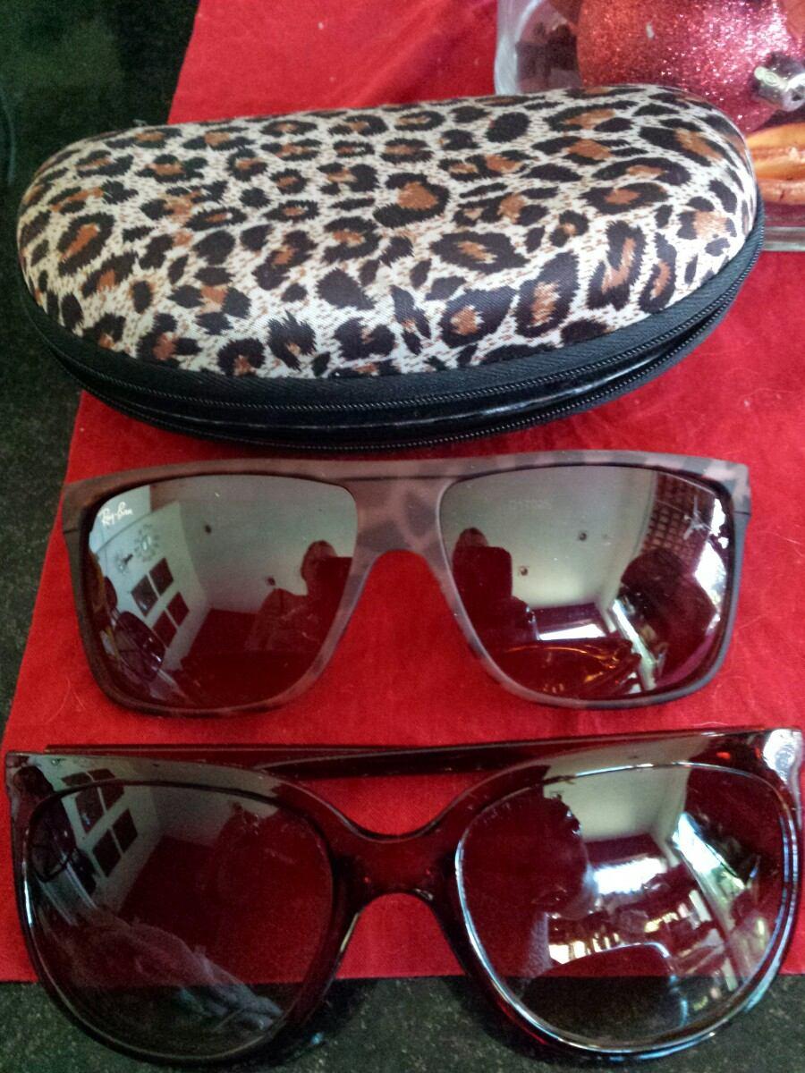 0f2d9dc226490 óculos de sol feminino 2 por um único preço com caixa. Carregando zoom.