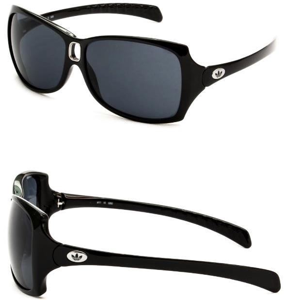 Oculos De Sol Feminino adidas Original Preto Prata Austria - R ... fc9a63fe53