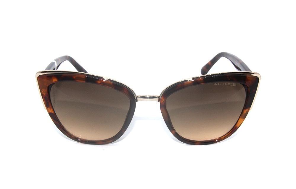 ad2559c2f2c0b óculos de sol feminino atitude 5347 g21. Carregando zoom.
