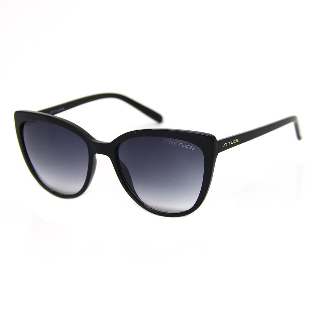 ba14ac1f3430a Óculos De Sol Feminino Atitude At 5296 - R  179,00 em Mercado Livre