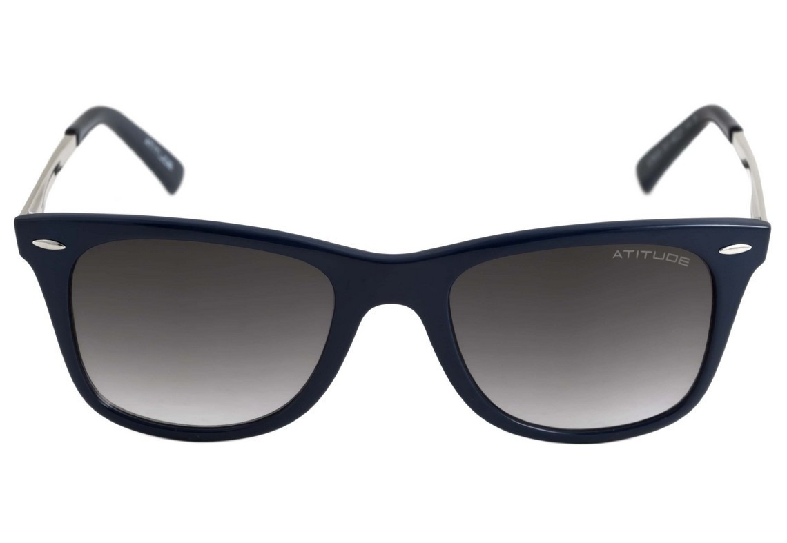 3c74d90795c04 óculos de sol feminino - atitude at 8003 - quadrado   azul. Carregando zoom.